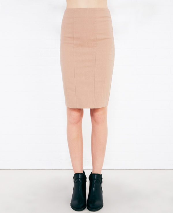 Classic Pencil Skirt with Seam Detail -- N4500