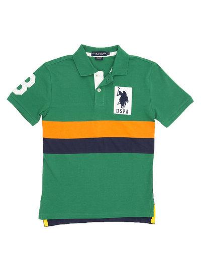 U.S. Polo Color Block Polo Shirt -- N5000