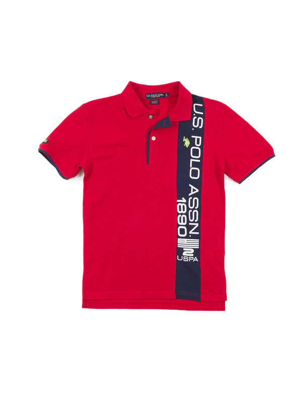 U.S. Polo Vertical USPA Stripe Polo -- N5000