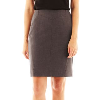 Worthington Seamed Pencil Skirt Petit -- N3800