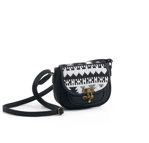 Tribal Front Crossbody Bag -- N4800
