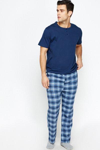 Multi Checked Pyjamas -- N4000
