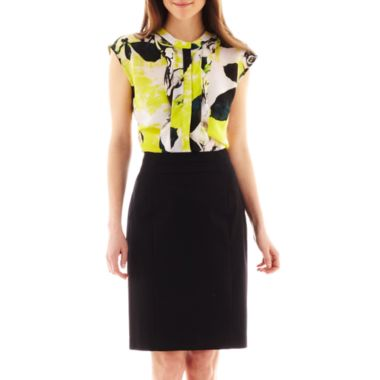 Worthington Sateen Pencil Skirt - N3500