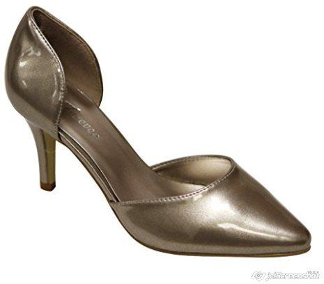 Forever Jada 2 D'Orsey Heels - Champagne - N5800