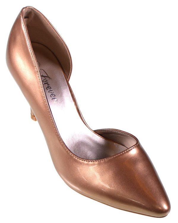Forever Jada D'Orsey Heels - Bronze -- N5800