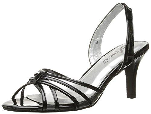 Annie Ladu Patent Heels - Black -- N9500
