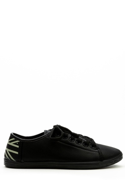 Coura Union Jack Trainers -- N4000