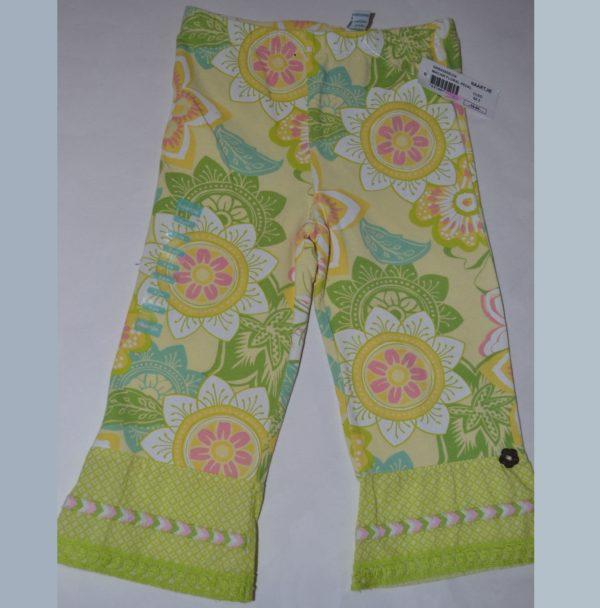 Naartjie Macaw Floral Pedal Pushers Cleo Pants -- N1500