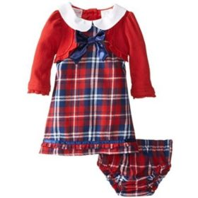 Nannette 2 Piece Plaid Dress Set -- N3000