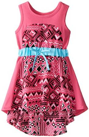 Sweet Heart Rose Koshibo Panel Dress -- N2500