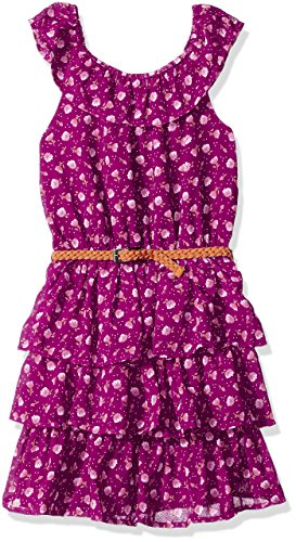 The Children's Place Ruffle Tier Dress -- N5000