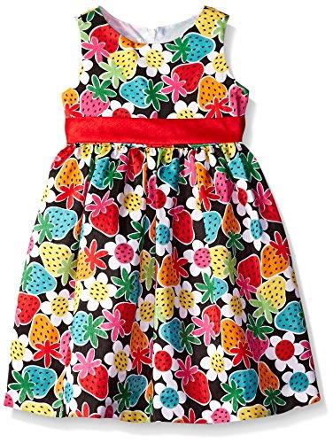 American Princess Strawberry Shatung Dress -- N6000