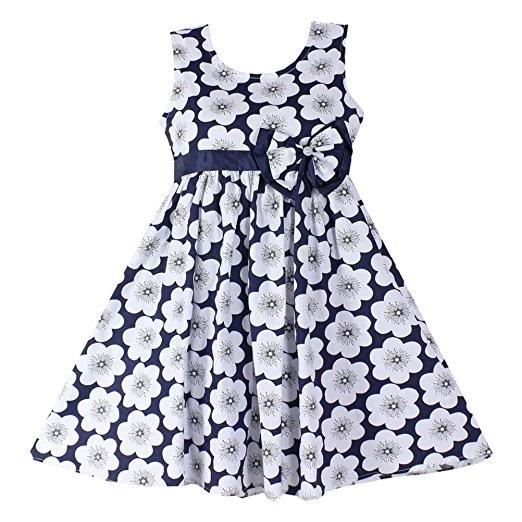 Blue Peaches Flower Girl Dress -- N6000