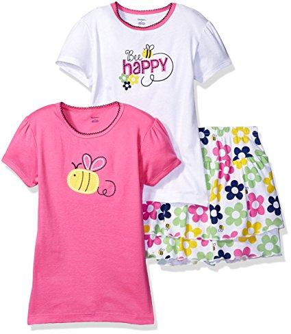 Gerber 3 Piece 2 shirts 1 Skort Playwear - N3500