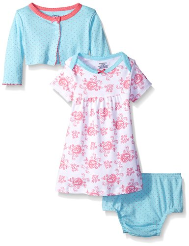 Gerber Two Piece Cardigan and Dress Set - N3500