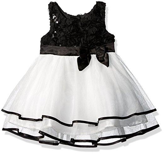 Lilt Soutache Sequin Mesh Dress -- N8000